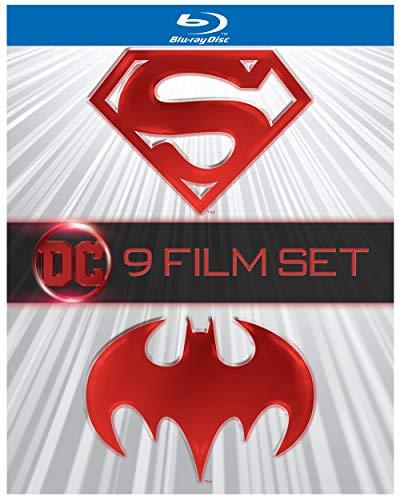 Batman & Superman 9-Film Set (BD) [Blu-ray]