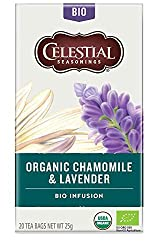 Floral and elegant. A harmonious pairing that calls to mind a tranquil garden with each sip. Celestial Organics Herbal Teas are simple, delicious pairings of fine organic botanicals. Each blend features one ingredient that's comfortingly familiar & o...