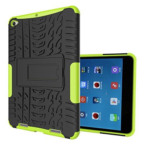 FullProtecter Xiaomi Mi Pad 2 Hülle,Bumper Cover Schutz Tasche Handyhülle Schutzhülle Silikon TPU+PC Hardcase für Xiaomi Mi Pad 2(Grün)