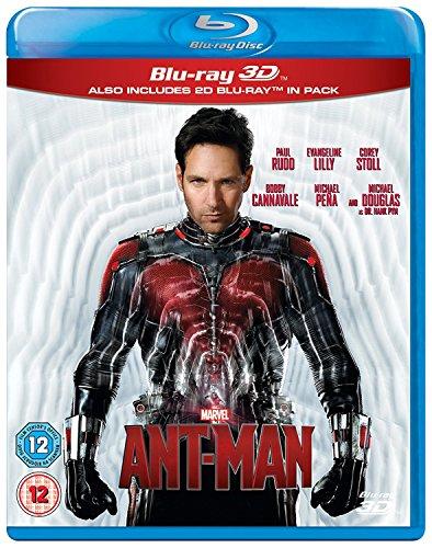 Ant-Man 3D BD [Blu-ray] [UK Import]