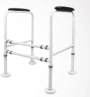 Asdfnfa Handrails Safety Rails Carbon Steel Toilet Rails Bathroom/Toilets Elderly/Pregnant Women Non-Slip (Color : B)