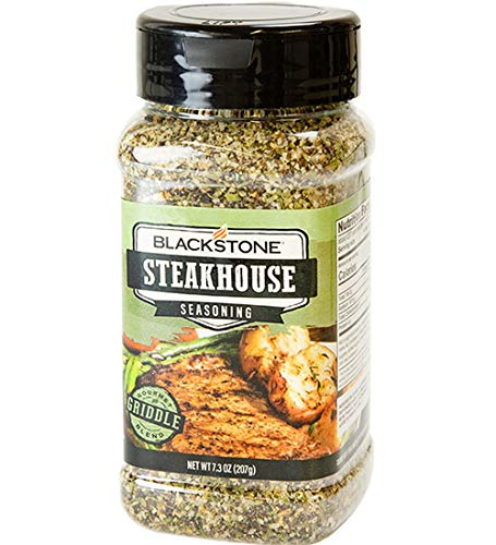 Blackstone Steakhouse Seasoning - Net Wt 7.3 Oz
