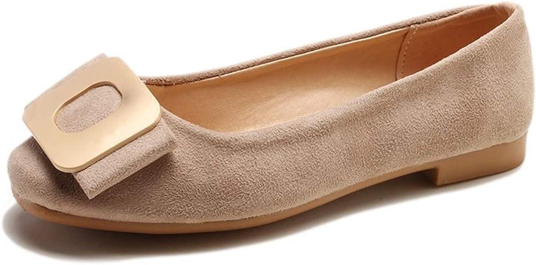 Bon Soir Woman Fashion shoes Casual Comfortable Flat shoes Women Work Buckle shoes