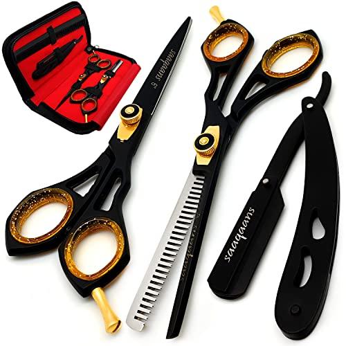 Saaqaans Kit de tijeras profesionales