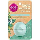 eos USDA Organic Lip Balm - Sweet Mint | Lip Care to Moisturize Dry Lips | 100% Natural and Gluten Free | Long Lasting...