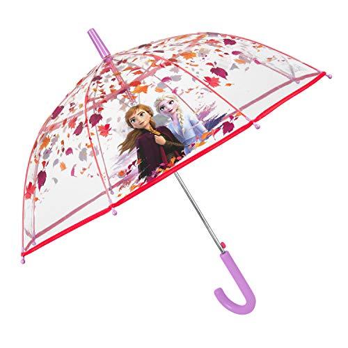 Paraguas Disney Frozen 2 Infantil Transparente   Paraguas