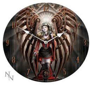Klok Avenger by Anne Stokes figuur engel wandklok