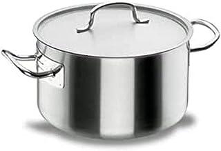 Lacor - 50041 - Cacerola Alta Con Tapa Chef Classic 40cm Inox