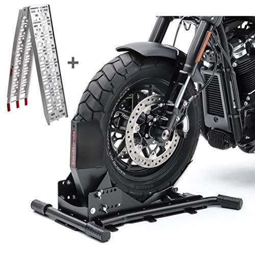 Set Motorradwippe Constands Easy Vario + Auffahrrampe Alu-I SW2