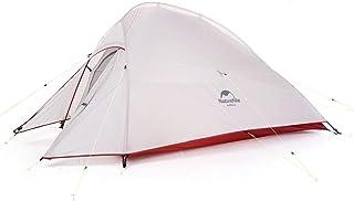 Naturehike公式ショップ テント 2人用 アウトドア 二重層 自立式 超軽量 4シーズン 防風防水 PU3000/4000 キャンピング プロフェッショナルテント CloudUp2アップグレード版(専用グランドシート付)