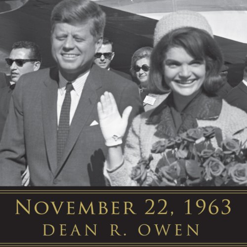 November 22, 1963     Reflections on the Life, Assassination, and Legacy of John F. Kennedy              By:                                                                                                                                 Dean R. Owen,                                                                                        Helen Thomas (foreword)                               Narrated by:                                                                                                                                 Arnell Powell,                                                                                        Kimberly Farr,                                                                                        Arthur Morey,                   and others                 Length: 10 hrs and 2 mins     8 ratings     Overall 3.5