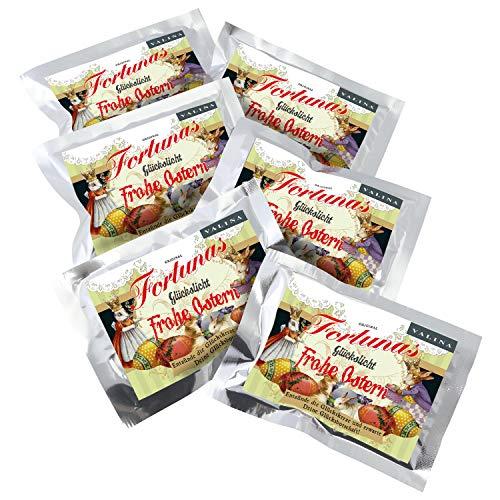 Fortunas Glückslicht / Vintage Frohe Ostern / 6er Pack