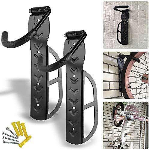 NOENNULL 2 stuks verstelbare fiets muurbeugel stalen fiets muurbeugel fiets haak voor fietsophanging