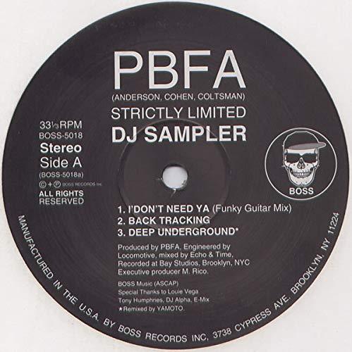 PBFA - Strictly Limited DJ Sampler - Boss