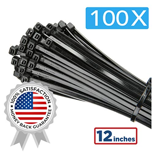 Ultra R/ésistant Serre C/âble Flexible Zip Cable Ties avec Slipknot Serre C/âbles Nylon 150 mm x 7,5 mm Attache C/âble R/éutilisables GTIWUNG Lot de 100 Collier de Serrage R/éutilisable Plastique Noir