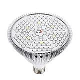 Pianta Coltiva la Lampada E27 40/78/120 LED Spettro Completo Luce Crescita Lampadina Lampada Coltivazione Indoor Idroponica Coltiva Luci Impianto Grow Light (120LED)