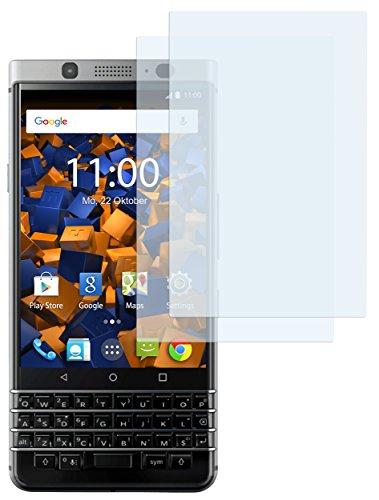 mumbi Schutzfolie kompatibel mit Blackberry KEYone Folie klar, Bildschirmschutzfolie (6x)