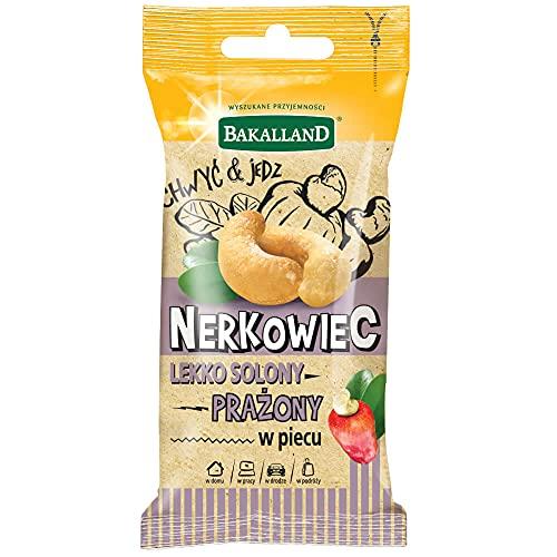 Bakalland Orzechy Nerkowca Prażone Solone, 30 g