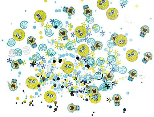 amscan 998170 Konfetti Spongebob