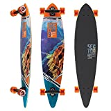 Sector 9 Mini Lookout Complete 38 Inch Bamboo Drop Through Longboard...
