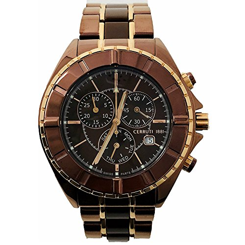 Cerruti 1881 Herren-Armbanduhr Chronograph - CRWA006M231G