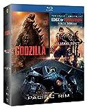 Godzilla, Edge Of Tomorrow, Pacific Rim (Box 3 Br)