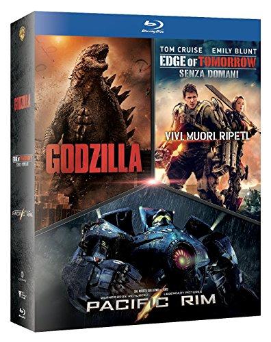 Godzilla / Edge Of Tomorrow / Pacific Rim Boxset (3 Blu-Ray) [Italia] [Blu-ray]