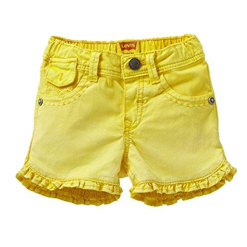 Kidswear filles jaune Colombe Shorts Levi - 12 Months
