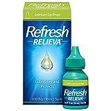 Refresh Relieva Lubricant Eye Drops For Dry Eyes, 0.33 Fl Oz Sterile