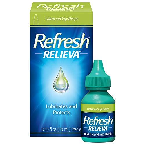 Refresh Relieva Lubricant Eye Drops, 0.33 Fl Oz Sterile