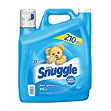 Snuggle Blue Sparkle Fabric Softener (168 oz., 210 loads) - (Original from manufacturer - Bulk Discount available)