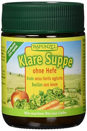 Rapunzel Klare Suppe ohne Hefe, 2er Pack (2 x 160 g) - Bio