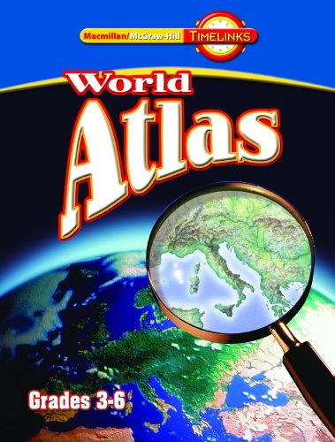 TimeLinks: Fourth Grade, Atlas book (3-6)