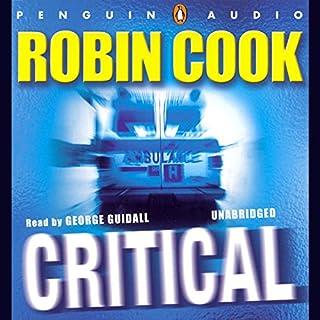 Critical audiobook cover art