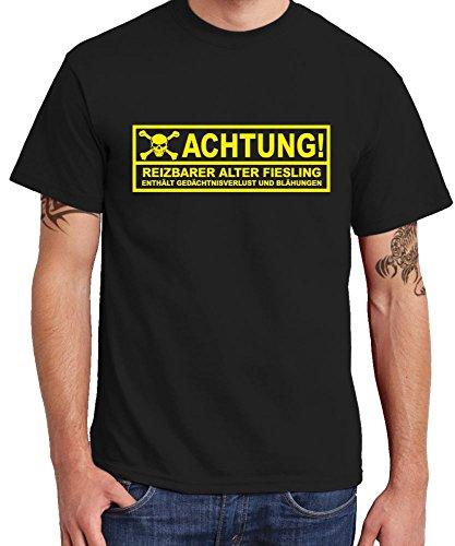 - Reizbarer Fiesling - Boys T-Shirt Farbe Schwarz, Größe XL