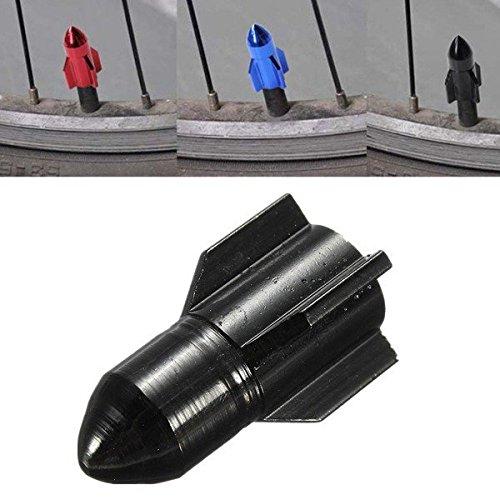 PhilMat Cappucci delle valvole di biciclette a forma di aria pneumatico della ruota razzo coprono