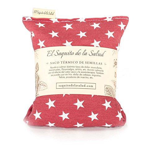 Saco Térmico de Semillas Aroma Lavanda, Azahar o Romero
