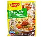 Maggi Sopa de Pollo con Arroz Chicken Soup with Rice (24 Pack)