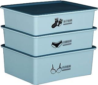 Boîte de rangement XIAOXIAO Armoire sous-vêtements sous-vêtements Chaussettes Boîte De Finition Type De Tiroir Rangement À...