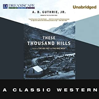 These Thousand Hills audiobook cover art