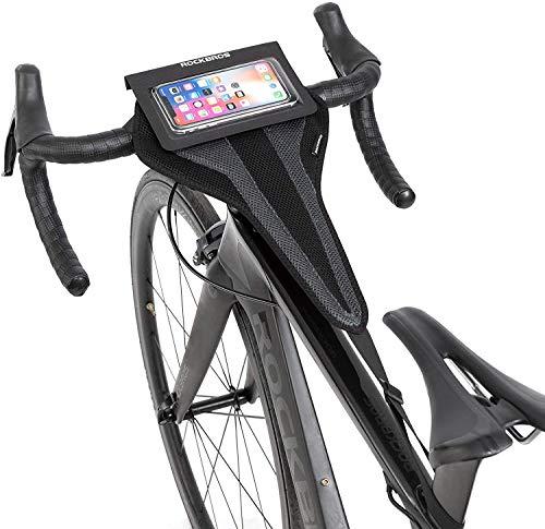 ROCKBROS Cubierta de Sudor Bicicleta para Ciclismo Entrenamiento Rodillo Protector
