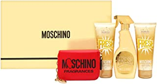 Women's Perfume Set Fresh Couture Gold Moschino (4 pcs)