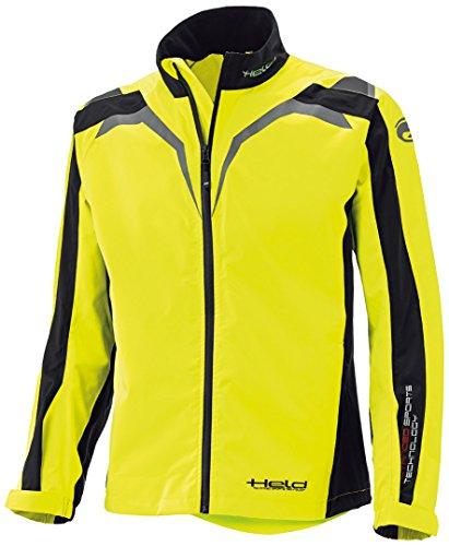 Held Textile Jacket Rainblock Top Black/Neonyellow Xxl