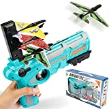 Airplane Toy, Outdoor Toys for Kids Ages 4-8,Catapult Plane Toys with 4pcs Glider Foam Plane,One-Click Ejection Model Shooting Game,Outside Flying Toys Birthday Gifts for 4 5 6 7 8 9 10 Year Old Boys