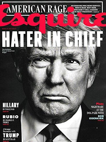 Esquire Magazine (February, 2016) Donald Trump Cover