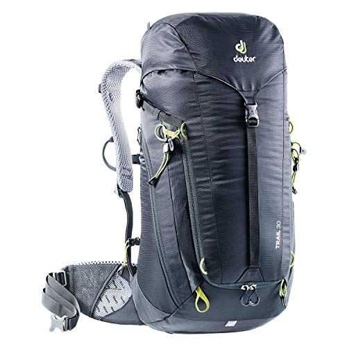 Deuter Trail - Zaini Unisex Adulto, Nero (Black-Graphite), 27x35x62 cm (B x H T)