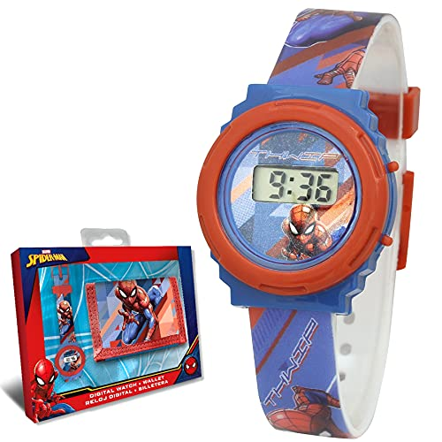 SKYLINE | Reloj Digital para Niños + Cartera | Reloj Infantil Ajustable | Pila Extra |...