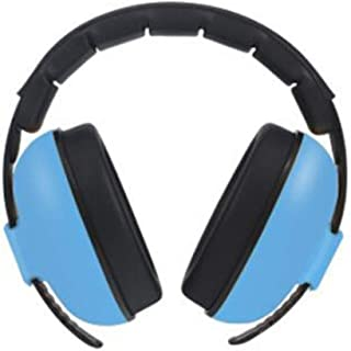 Soundproof earmuffs Ear Defenders Kids Autism, Anti-Noise Earplugs Childrenlearn Sleep with Adjustable Noise Reduction (Color : Blue)