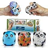 YoYa Toys Beadeez Panda Stress Relief Balls...