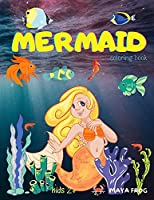 MERMAID coloring book: Mermaid Coloring Book for Kids, Unique Coloring Page, For Kids 3-6-8 ages